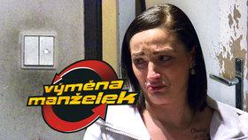 Slzy ve Výměně manželek: Kristýna propukla v pláč, sotva vešla do dveří!