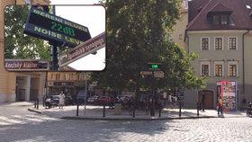 Jak řádí turisté v centru během nočních tahů? Praha 1 na nejrušnější místo nainstalovala hlukoměr