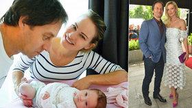 Habera odtajnil třetí vnouče! Dojemně vzpomínal na dětství dospělé dcery