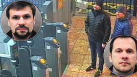 Útok novičokem byl v režii ruské rozvědky, tvrdí Mayová. Britové vydali na dva muže zatykač