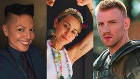 Angelina, Miley a další: Kdo miluje muže i ženy a nestydí se za to?