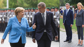 """""""Babiš je zloděj."""" Češi bouřili v Berlíně, premiér řešil s Merkelovou migranty"""
