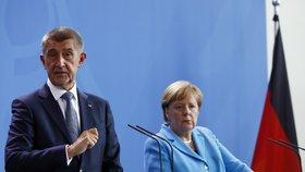 """Babiš: """"Peníze pro mě nejsou motivací."""" A komunisti nemají vliv, ujišťoval Němce"""