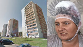 Mostecké domy hrůzy: Slušní lidé utíkají z věžáku, kde zbili matku Martinu. Policie útočníka hledá