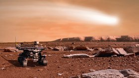 Pod povrchem Marsu mohl být mimozemský život, překvapili vědci