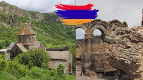 Blesk na cestách po Arménii: Země klášterů, koňaku a volby vyhrál »Havel«!