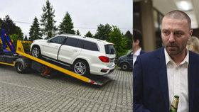 Soud s Řepkou kvůli prodeji cizího auta: Milion v igelitovém pytlíku a svědek z baru