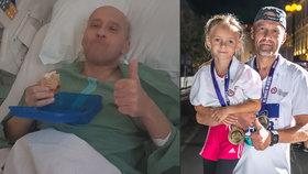 Válečný veterán Roman (46) dvakrát překonal rakovinu: V dubnu se učil chodit, teď uběhl 10 km!
