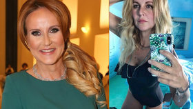 Vendula Pizingerová (46) sexy pózami v plavkách provokuje vlastní rodinu