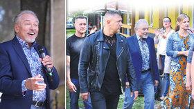 Karel Gott se ukázal s davem bodyguardů v patách! Proč jich má tolik, diví se všichni
