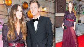 Ester Berdychová s manželem, ale bez sukně na party! Nemám problém se odhalit, říká modelka