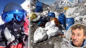 Tuny výkalů a hromady odpadků: Mount Everest ničí turisté, poznal to i horolezec Ivo