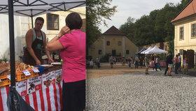 Farmářské trhy dvakrát týdně: Libeňské podzámčí se otevírá veřejnosti, v plánu je i restaurace