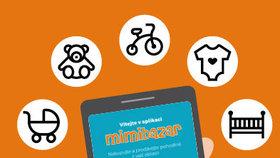 Nechcete běhat po obchodech? Nová mobilní aplikace usnadní nákup i prodej na oblíbeném Mimibazaru!