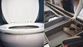Horší než záchodové prkénko: Letištní přepravky jsou ráj bakterií, varuje studie