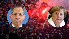 Merkelová chce hlavu šéfa kontrarozvědky. Kvůli tomu, co provedl v Chemnitzu
