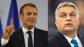Orbán vyzval Macrona na souboj. Zůstane EU liberální, nebo se vydá cestou populismu?