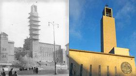 Tajemství funkcionalistické perly. Kostel v Košířích ostřelovali, sloužil jako márnice