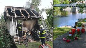 Prokletá rodina! Syn (†4) uhořel v chatce u babičky, bráška (†3) se předloni utopil