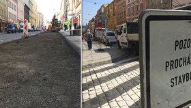 Lepší cesta na polikliniku v Praze 7: Tramvajová zastávka Kamenická bude do konce roku bezbariérová