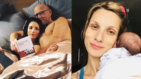 Laura z Románu pro ženy Kanócz: Dceru kojila přímo v kadeřnictví