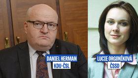 ŽIVĚ: Lidovec proti bývalé mluvčí ČSSD o platech učitelů a sportovních dotacích