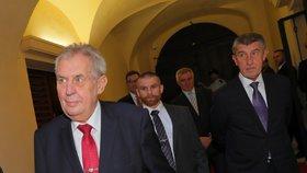 Babiš se rozešel se Zemanem: Ke změně přístupu Česka ke Kosovu nevidí důvod