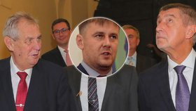 Zeman nebude dělat s Petříčkem problémy, tvrdí ČSSD. Skončí Hamáčkovo dvojvládí?
