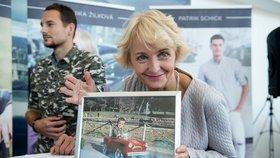 Unikát z rodinného archivu: Žilková vytáhla 55 let starou fotku manžela