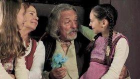 Šok! Karel Gott v nové pohádce mluví slovensky