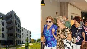 Z ruiny se stal domov důchodců. V Praze 13 otevřeli svoji největší letošní investici