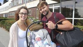 Pepa Vágner ukázal dcerku Amelii a říká: Manželka mi při porodu nadávala!
