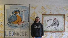 Podchod hrůzy v Liberecké se změnil: Roman ho proměnil v galerii