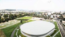 Svatostánek pro cyklisty: Velodrom za 400 milionů postaví na jihu Brna