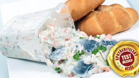 Test rybích salátů: Jsou ze zkaženého masa?
