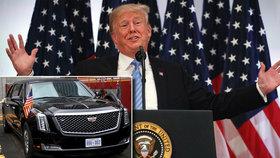 """Trump odmítá posměch v OSN: """"Nesmáli se mně, smáli se se mnou."""" A blýskl se novou limuzínou"""