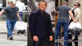 Agent 007 Daniel Craig otcem! Zplodil s Rachel Weisz syna, nebo dceru?