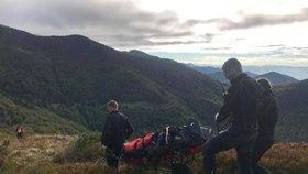Na Slovensku zemřel český turista (†50). Osudným se mu stal výstup na oblíbenou horu