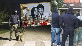 Z úkladné vraždy Kuciaka a snoubenky obvinili po razii tři lidi. Pět jich pustili