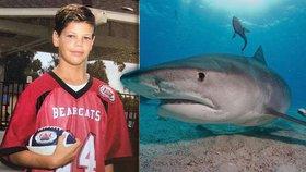 Chlapec (13) je po útoku třímetrové žraloka v kritickém stavu. V moři lovil humry