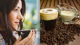 Za irskou kávu vděčíme špatnému počasí! A recept od baristů, jak si ji připravit doma