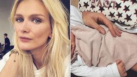 Zuzana Stráská popsala porod dcery: Za hodinu a půl bylo po všem a bezbolestně!