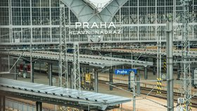 Pětipatrové domy přímo nad kolejemi hlavního nádraží: České dráhy a Penta plánují projekt za miliardy