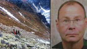Dramatická záchrana horala Martina: Stometrový pád přežil díky přilbě