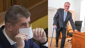 Poslanci hasili průšvih s ortézami, brýlemi a vozíky. Pomůcky zřejmě nepodraží