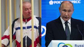 Putin se pustil do Skripala: Je to pacholek a zrádce. Otrávit ho nebylo zapotřebí