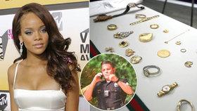 Gang okradl Rihannu a další celebrity o miliony: Policie je pozatýkala