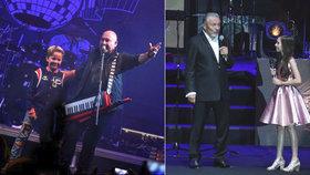 Michal David zpívá s vnukem Sebastianem! Vychovává z něj zpěváka! Může za to Gott?