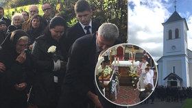 Při nelegálních závodech luxusních aut zabili tátu Štefana (†57): Rodina se na pohřbu hroutila žalem