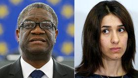 Kim ani Trump neuspěli. Nobelovu cenu míru dostal lékař Mukwege a jezídka Muradová